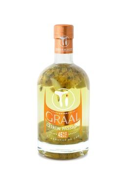 Punch Au Rhum Arrange Ti Graal Citron Passion 45.4% 70cl Sous Etui