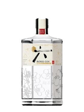 Gin Japon Roku Suntory 43% 70cl Sous Pochon