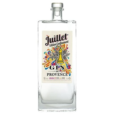 Gin Juillet Edition Confinement Ferroni 44% 50cl