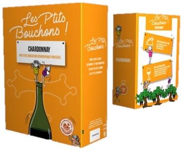 Bib 3l Igp Oc Chardonnay Les Petits Bouchons